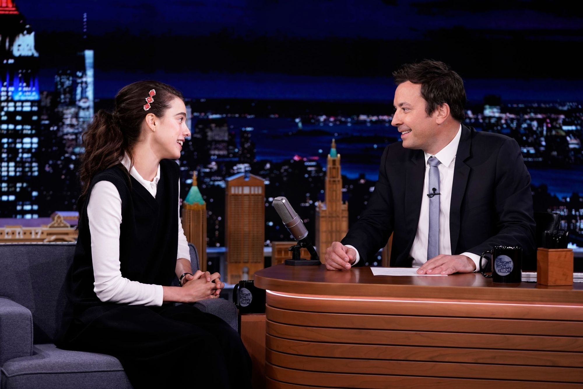 """Margaret Visits """"The Tonight Show Starring Jimmy Fallon"""""""